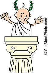 cesar - Do you recognize me? i'm Julius Caesar, the perfect...