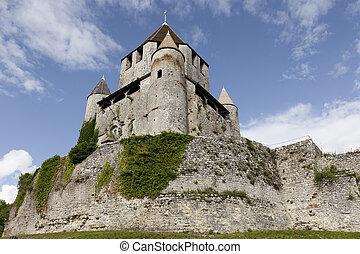 Cesar tower, Provins, Ille de France, France