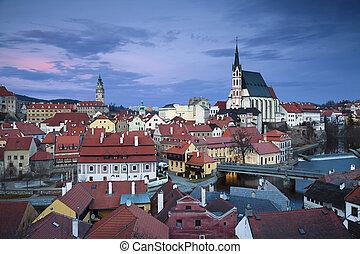 Cesky Kromlov, Czech Republic. - Image of Cesky Krumlov,...