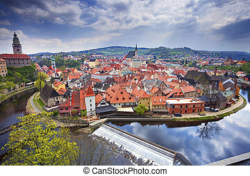 Cesky Kromlov, Czech Republic. - Image of Cesky Krumov and...