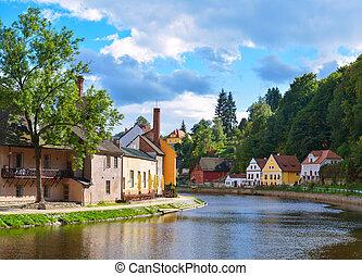 Cesky Krumlov - Czech Krumlov - small city in the South ...