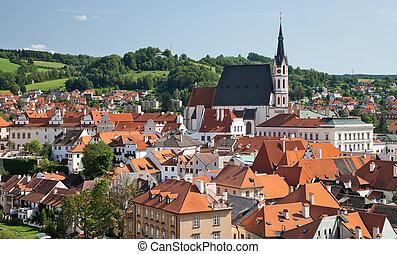 Cesky Krumlov the St. Vitus Church - Cesky Krumlov the ...