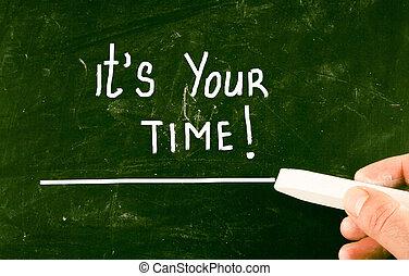 c'est, ton, time!