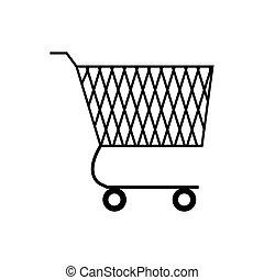 cesta, shopping