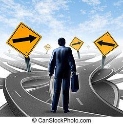 cesta, strategický