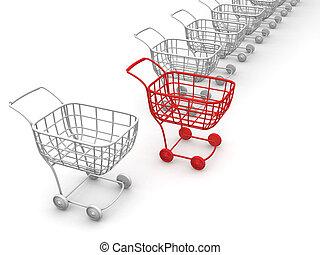 cestas, consumer's