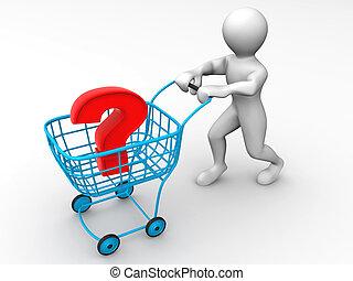 cesto, domanda, consumer\'s