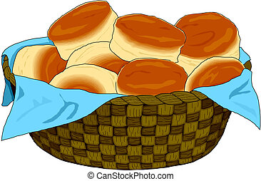cesto per il pane