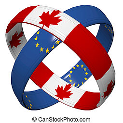 CETA Trade Agreement - Symbol for the Comprehensive Economic...