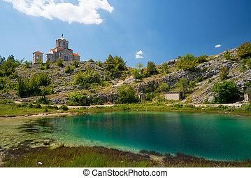 Cetina water source spring in Croatia - Cetina water source ...