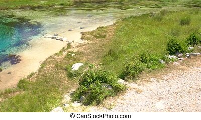 Cetina water source spring in Croatia - Cetina water source...