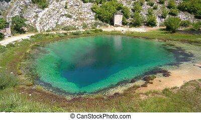 Cetina water source spring in Croatia - Cetina water source...