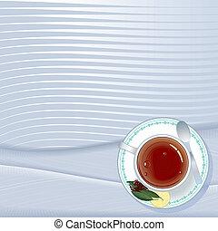 Ceylon tea menu