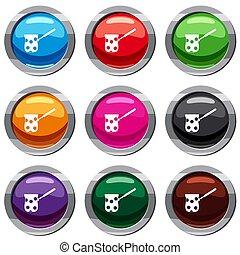 Cezve set 9 collection