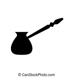 cezve turkish coffee maker icon