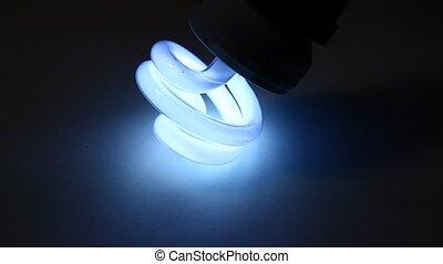 Cfl bulb close-up