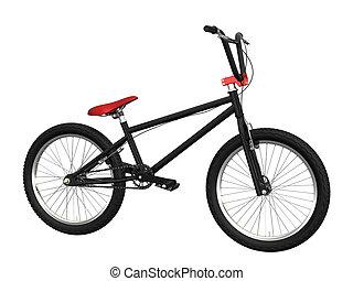bike - cg bike isolated on white