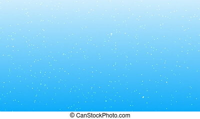 christmas snow background - cg generated christmas snow ...