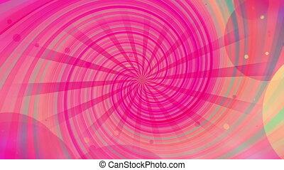 cg, multicolore, formes, faire boucle, retro, fond, ...
