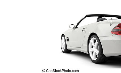 CG render of generic luxury coupe car - New CG 3d render of...