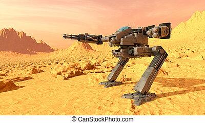 cg, roboter, 3d, übertragung