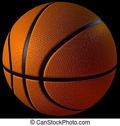 cgi, バスケットボール, 3d