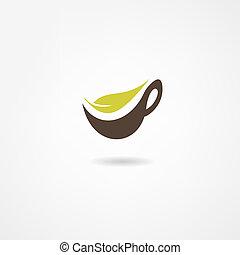 chá, ícone