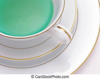 chá herbário, verde, 4