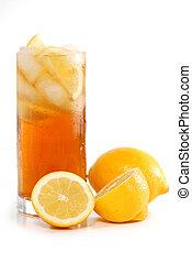 chá, iced