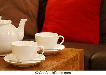 chá, inglês