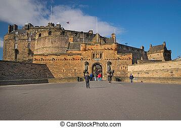 château edimbourg, entrée