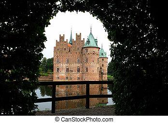 château, egeskov, danemark