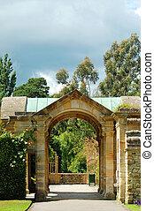 château, hever, jardin, angleterre