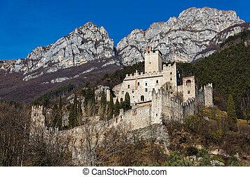 château, italie