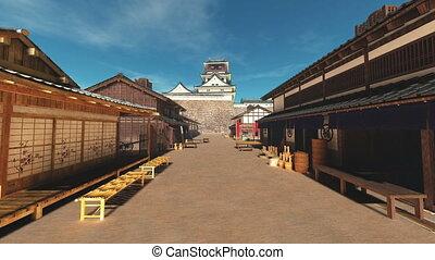 château, japonaise