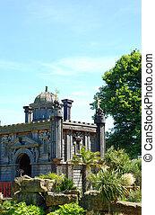 château, jardin, arundel