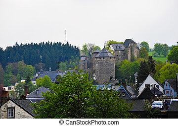 château, monschau