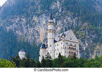 château neuschwanstein, allemagne
