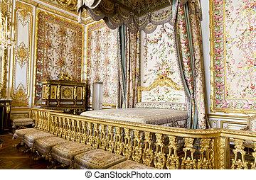 château, paris, versailles, france