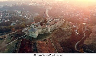 château, ukraine, merveilleux