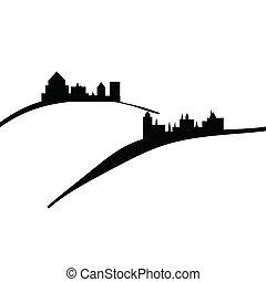 châteaux, collines