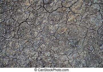 chão, cracks.