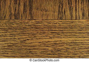 chêne, grain, placage, texture, fond, sombre, noir, brun, naturel, horizontal, gratté, textured, modèle, grand, détaillé, accidenté, bois, macro, closeup, vieux, vieilli, a mûri, grossier, rugueux, toqué, conseil bois, gros plan, détail, profond, grattements, rustique, vendange, espace copy