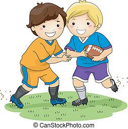 chłopcy, piłka nożna