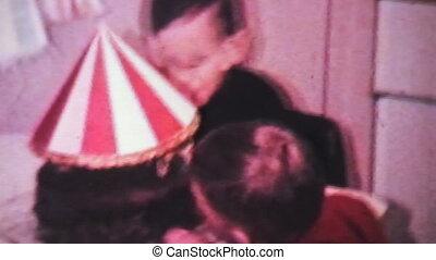 chłopiec, święcenia, jego, birthday-1966