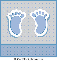 chłopiec niemowlęcia, feet