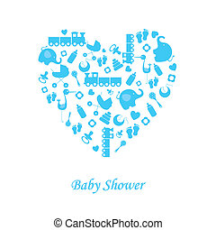 chłopiec niemowlęcia, urodzenie, karta