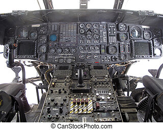 CH-46E - The Boeing CH-46 Sea Knight is a medium-lift tandem...