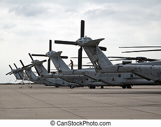 The CH-53 Sea Stallion is the most common name for the Sikorsky S-65 family of heavy-lift transport helicopters. Originally developed for use by the United States Marine Corps, it is also in service with Germany, Iran, Israel, Mexico, and as the MH-53 Pave Low with the United States Air Force. The ...