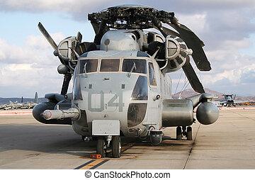 ch-53e, stalion, toppen